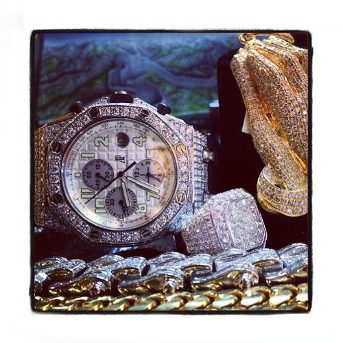 Audemars Piguet Royal Oak Diamond Watch 27286 Audemars Piguet Watches