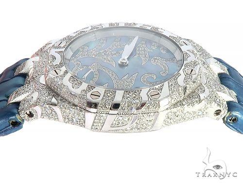 Audemars Piguet Royal Oak Lady Oak Leaves 18K Solid White Gold Diamond Watch 65687 Diamond Watch Inactive