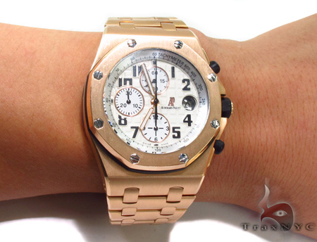 Audemars Piguet Royal Oak Offshore 18K Rose Gold Watch Audemars Piguet Watches