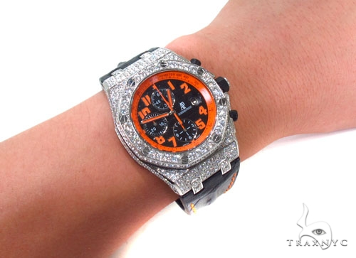 Audemars Piguet Royal Oak Offshore Volcano Diamond Watch Audemars Piguet Watches