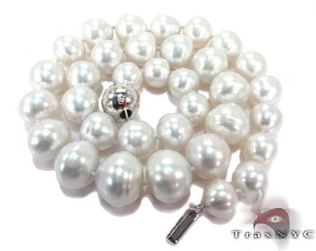 Sea Salt White Pearl Ladies Necklace 27155 Pearl