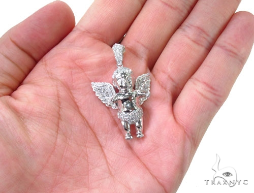 Baby Angel Pendant 36622 Metal