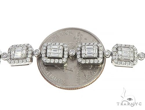 Baguette Invisible Diamond 22 inch Chain 65294 Diamond