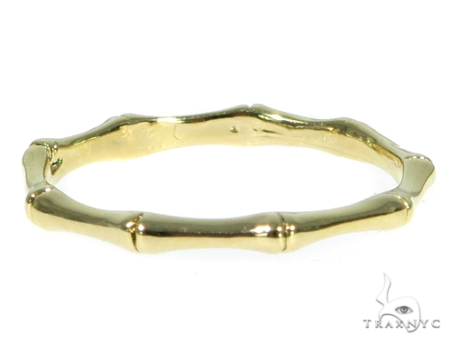 Bamboo Gold Fashion Ring 45474 Anniversary/Fashion
