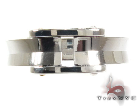 Mens Cheap Baraka BK-UP Stainless Steel Ring Metal