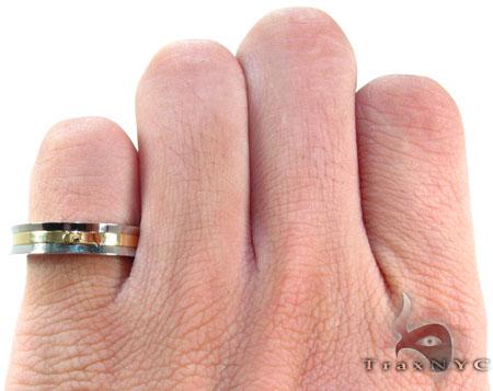 Mens Affordable Baraka BK-UP Stainless Steel Ring Metal