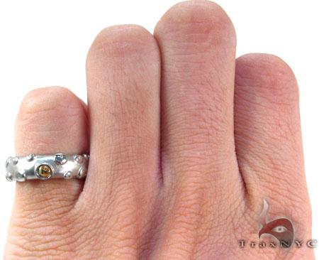 Baraka Small BK-UP Stainless Steel Unisex Ring AN50115 Metal
