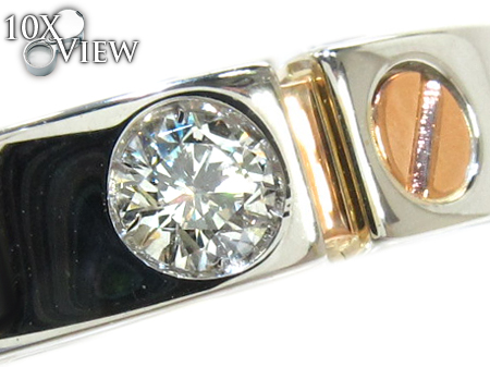 Baraka Two Tone Gold Diamond Ring AN20937 Style