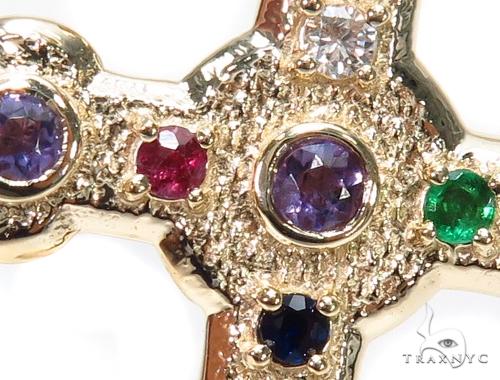 Basilica Diamond Gemstone Cross Crucifix 40809 Style