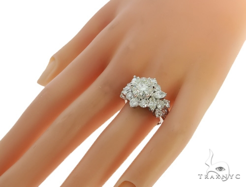 Belle Diamond Engagement Ring 49495 Engagement
