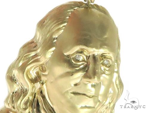 Benjamin Franklin Diamond Pendant & Chain Set 42599 Metal