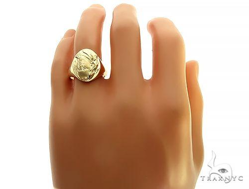 Benjamin Franklin Gold Ring 49780 Metal