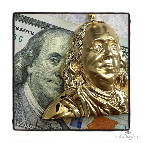 Benjamin Franklin Pendant 48921 Metal