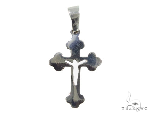 Bezel Diamond Cross Crucifix 44518 Diamond