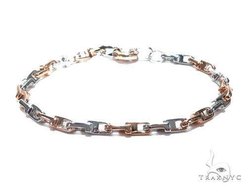 Bezel Diamond Gold Bracelet 41225 Gold