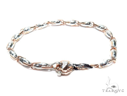 Bezel Diamond Gold Bracelet 41228 Gold