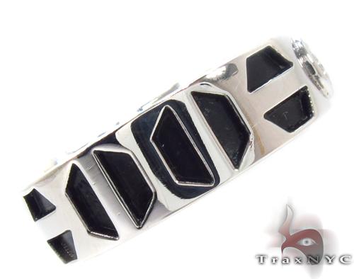 Bezel Diamond Pinky Ring 34390 Style