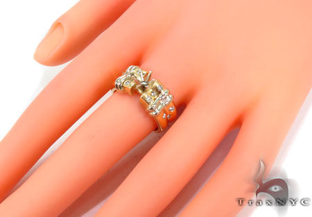 Bezel Diamond Ring 30459 Engagement