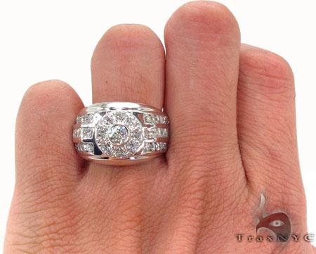 Bezel Diamond Ring 31564 Stone