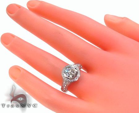Bezel Diamond Ring 32850 Engagement