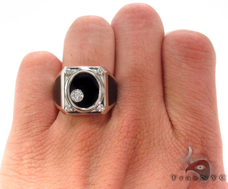Bezel Diamond Ring 33430 Stone