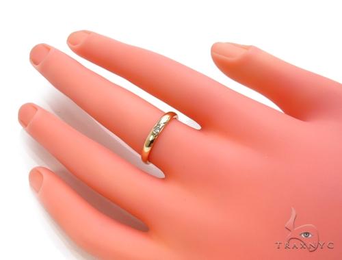 Bezel Diamond Ring 36008 Wedding