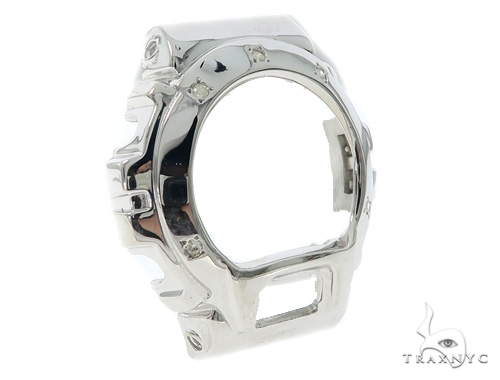 Bezel Diamond Silver G Shock Case 49823 G-Shock