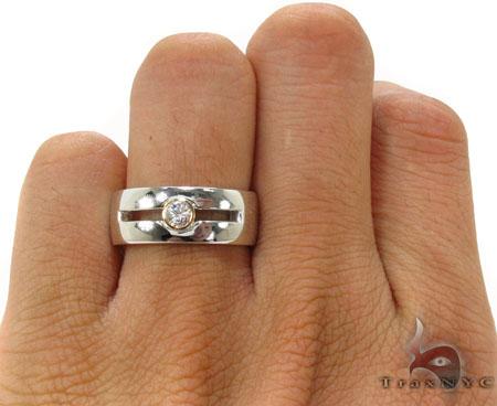 Peace of Fantasy Men Engagement Ring Stone