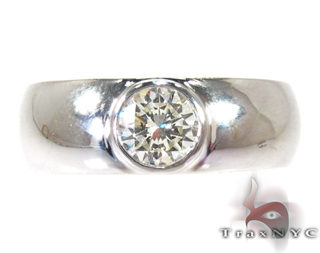Bezel Diamond Wedding Ring Style