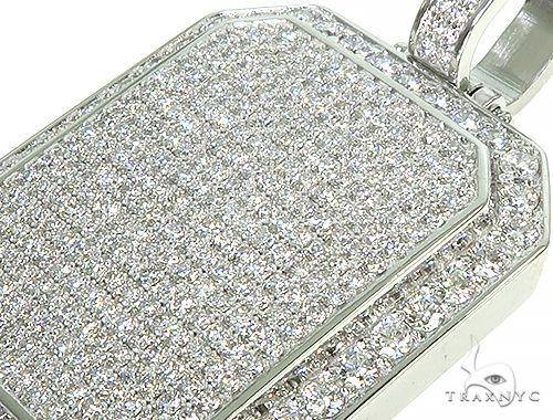 Big Size Custom Diamond Charm Pendant 66013 Metal