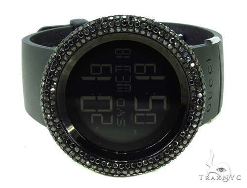 Black Diamond Bezel Digital 114 I-Gucci Watch YA114202 Gucci