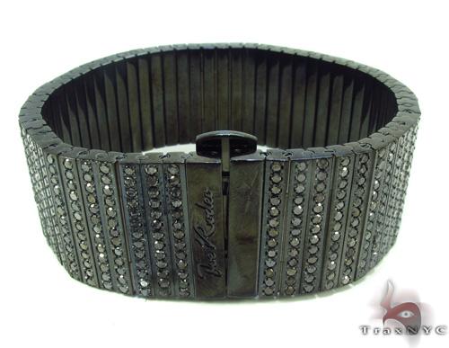 Black Diamond Bullet Bracelet Diamond