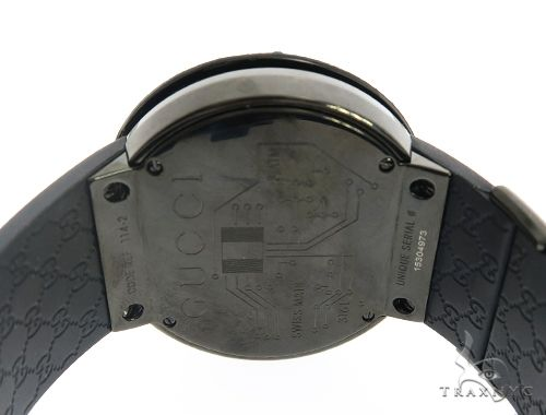 Black Diamond Gucci Watch 63937 Gucci