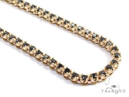 Black Diamond Polar Ice Chain 26 Inches 4mm 43.1 Grams 64112 Diamond