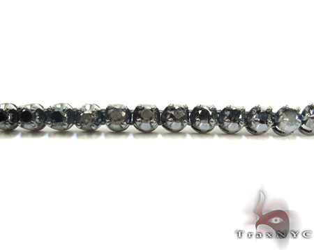 Black Gold Black Diamond Chain 26 Inches Diamond