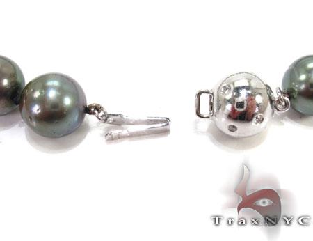 Black Pearl Ladies Necklace 27350 Pearl