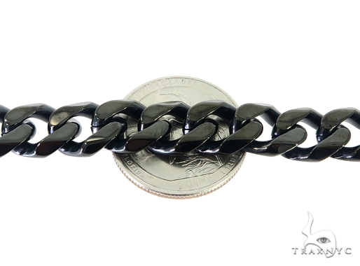 Black Stainless Steel Bracelet 57432 Stainless Steel