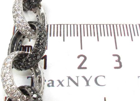 Black and White Diamond Bracelet 28320 Diamond