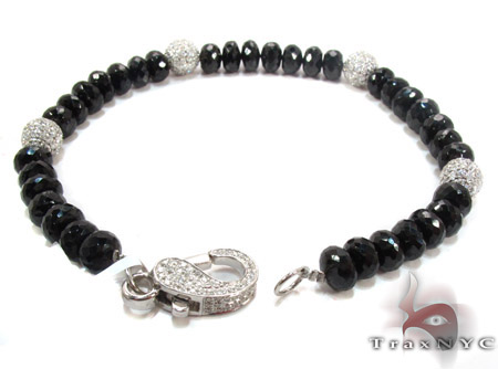 Black and White Diamond Bracelet 28322 Diamond