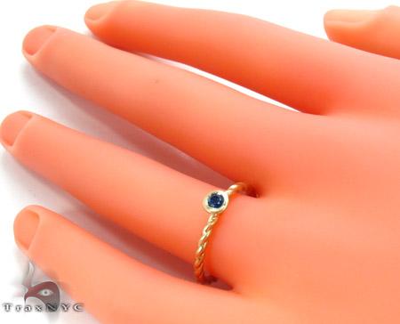 Blue Sapphire Ring Anniversary/Fashion
