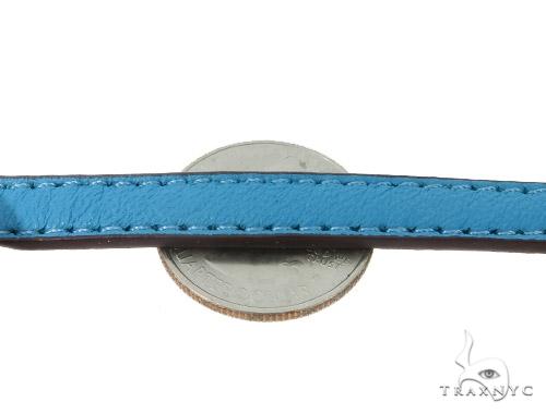 Brass CZ Initial H Bracelet 45594 Silver
