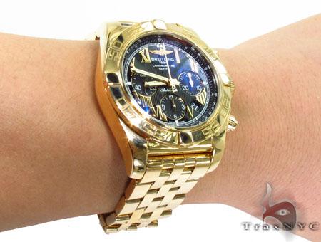 Breitling Chronomat B01 Rose Gold Watch Breitling