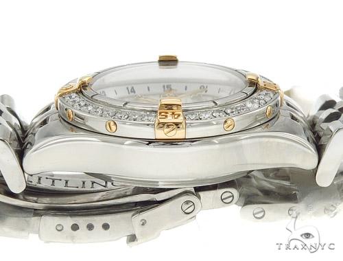 Breitling Chronometre Diamond Watch 44450 Breitling