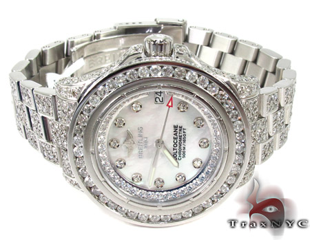 Breitling Colt Ocean Full Diamond Watch Breitling