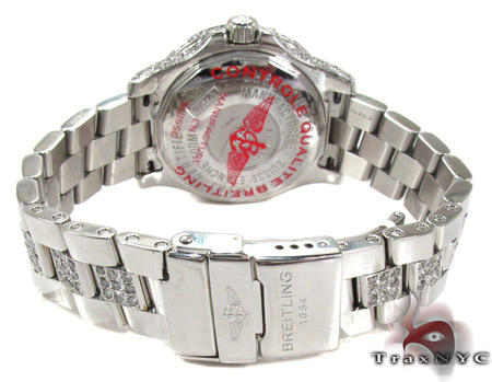 Breitling Colt Ocean Mother of Pearl Watch 27862 Breitling