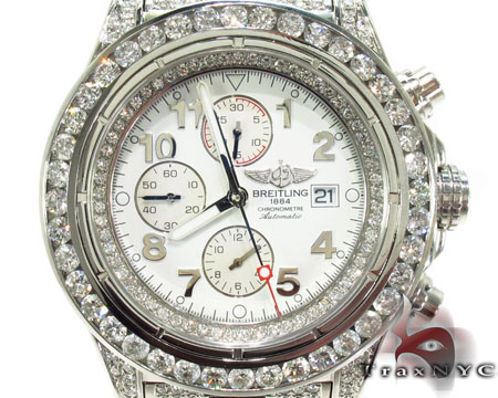 Breitling Super Avenger Fully Diamond Watch 2 Breitling