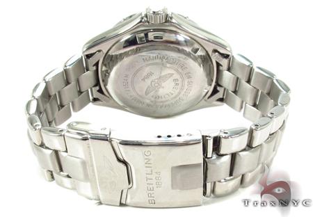 Breitling Superocean Diamond Watch Light Blue 31159 Breitling