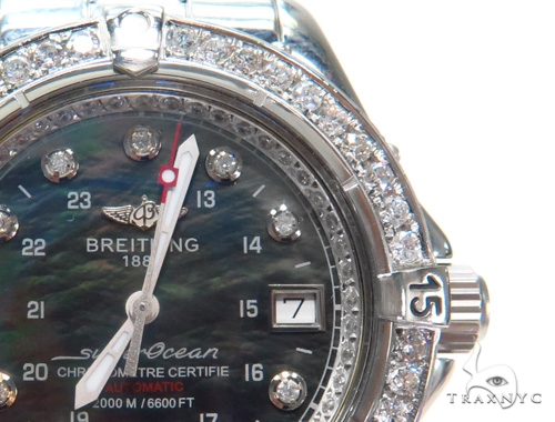 Breitling Superocean Diamond Watch 45315 Breitling