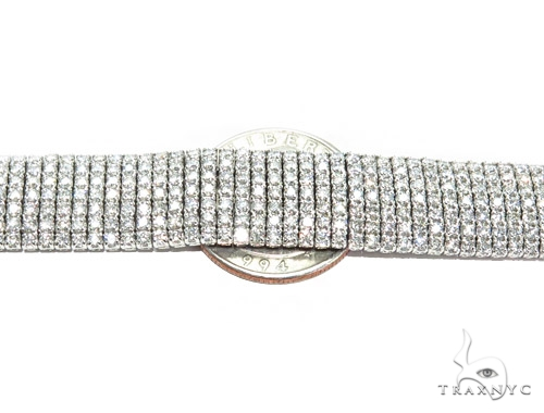Bronze Diamond & Gold Bracelet 41697 Diamond