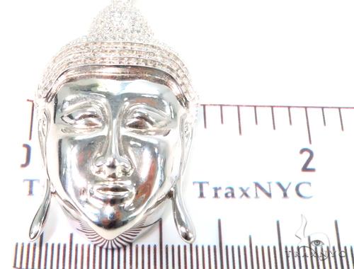 Buddha Silver Pendant 44498 Metal